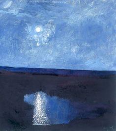New modern landscape painting kurt jackson Ideas Kurt Jackson, Nocturne, Abstract Landscape, Landscape Paintings, Sea Paintings, St Just, Blue Painting, Collaborative Art, Modern Landscaping
