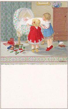 Pauli Ebner (1873-1949) — Old Post Cards   (600x960)