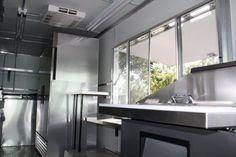 Food Truck Kitchen Design | Food Truck Lighting Design | Mobile Cuisine | Gourmet Food Trucks ...