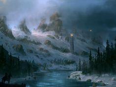 Fantasy - landscape Wallpaper