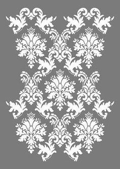 große Schablonen – Buntstück Hamburg Lace Stencil, Stencil Patterns, Airbrush, Silhouette Clip Art, Gold Work, Art Journal Inspiration, Sustainable Design, Designs To Draw, Interior Design Living Room
