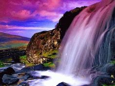 Rivers of Living Water shall flow from Beneath The Throne of Yahweh our… Beautiful Nature Wallpaper, Beautiful Gif, Beautiful Landscapes, Beautiful Places, Beautiful Pictures, Amazing Places, Amazing Gifs, Amazing Nature, Gif Bonito