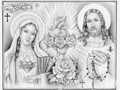 sacred heart of jesus tattoo - Pesquisa Google