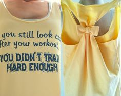 Workout Clothes If you Still look CUTE  Small by personTen on Etsy, $30.00