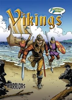 Vikings (Warriors Graphic Illustrated) by Don McLeese