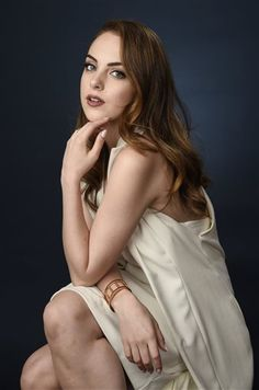 "Elizabeth Gillies, a cast member in the FX series ""Sex&Drugs&Rock&Roll,"" poses for a portrait during the 2016 Television Critics Association Summer Press Tour at the Beverly Hilton on Tuesday, Aug. 9, 2016, in Beverly Hills, Calif. (Photo by Chris Pizzello/Invision/AP)"