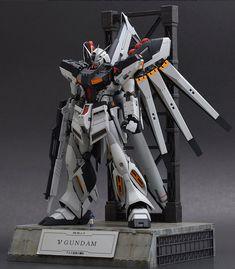 GUNDAM GUY: MG 1/100 Hi-Nu Gundam - Customized Build