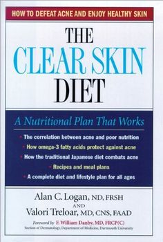 """The Clear Skin Diet. My dermatologist told me to read this :-) I can't wait for it to arrive.... Never thought I would """"Diet"""" for my skin!"""