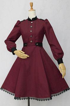 Victorian Maiden. Stand Collar Glaukopis Dress (スタンドカラーグラウコーピスドレス).