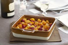 Butternut squash with Raspberries - fragrant and delicate - complement the earthy flavors and rich texture in the squash. Butternut squash is also a good source of beta-carotene. Save time by purchasing pre-cut butternut squash if you want. Gluten Free Thanksgiving, Thanksgiving Side Dishes, Thanksgiving Recipes, Fresh Raspberry Recipes, Butternut Squash Bread, Tasty Dishes, Dishes Recipes, Whole Food Recipes, Free Recipes
