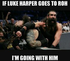 Pin if you agree. Luke Harper, WWE, #YeahYeahYeahYeahYeahMovement