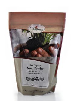 Raw Organic Noni Powder Back in stock at Naturehappiness.com! Disease-fighting superfood powder. (http://www.natureshappiness.com/organic-noni-fruit-powder-16-ounces/)