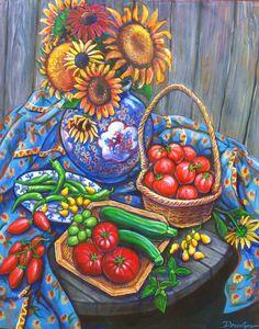 Windsor Tomatos 33'' x 45''