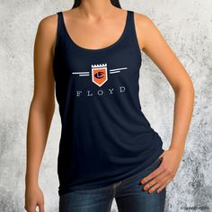 Leonard Floyd© Official Logo Tank Tops Choice of navy or orange Cotton Tank Top Leonard Floyd, Chicago Bears, Orange, Navy, Tank Tops, Logos, Cotton, Women, Fashion