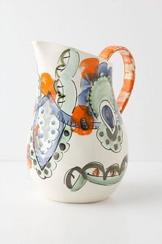 Escontria Pitcher - Anthropologie.com  Great for a vase but pours a mean marguerite.