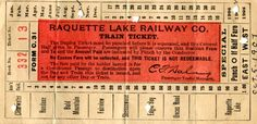 old train ticket - Google Search