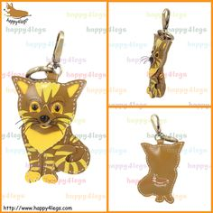 Domestic Shorthair Genuine Leather Bag Charm http://www.happy4legs.com/#!blank-9/lnnlh