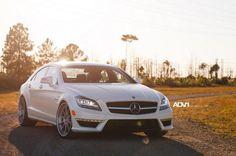 ADV.1 Wheels Matte white Mercedes-Benz CLS 63 AMG