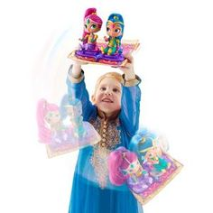 Shimmer and Shine Toys Online: Magic Flying Carpet – Novelty-Characters
