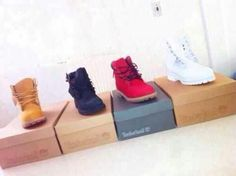 Brown black red and white timberlands