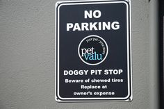 Love this sign at Pet Valu 1656 Queen St. East in Toronto.