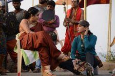 Baahubali 2 Movie Working Stills, Shooting Pics, Prabhas