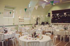 Handmade village Hall Wedding Decorations,Vintage Jewellery Details, Handmade Weddings, May Wedding, Spring Wedding, Vintage, Chalk Lane Hotel, Tadworth Village Hall, Surrey, Rebecca Douglas Photography