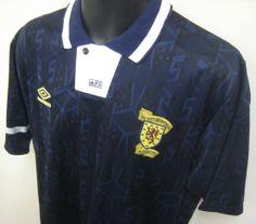 90s Scotland shirt by Umbro