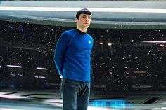 PHOTO : Spock as Science Officer on board the Enterprise
