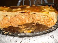 Receita de Pastelão de frango mais que gostoso - Tudo Gostoso