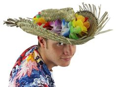 nice £4.99 GOOD QUALITY STRAW BEACHCOMBER HAT WITH ATTACHED FLOWER LEI. ONE SIZEHAWAIIAN LEI HATGOOD QUALITY STRAW BEACHCOMBER HAT WITH AT... Check more at http://fisheyepix.co.uk/shop/hawaiian-hat-fancy-dress-accessory-hula-lei-on-natural-straw-beachcomber-hat-flower-summer-beach-party-luau/