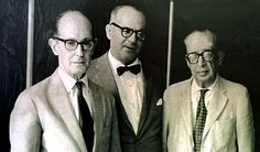 Carlos Drummond de Andrade, João Guimarães Rosa e Manuel Bandeira