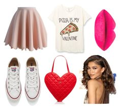 """"""""""" by emmizzzz on Polyvore featuring moda, Chicwish, Converse, Kate Spade, women's clothing, women, female, woman, misses e juniors"""