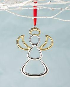 Nambe Angel Christmas Ornament {affiliate link}