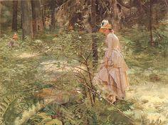 "Anders Zorn | ""Törnsnåret"" | 1886"