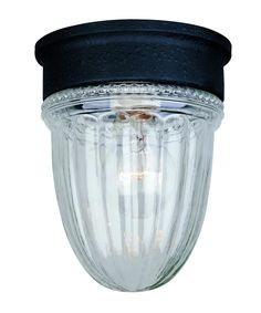 Savoy House Exterior Collections 5 Inch Wide 1 Light Outdoor Flush Mount | Capitol Lighting 1-800lighting.com  $22
