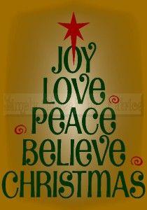Joy - love - peace - believe - Christmas sign/quote 520338697_tp.jpg (210×300)
