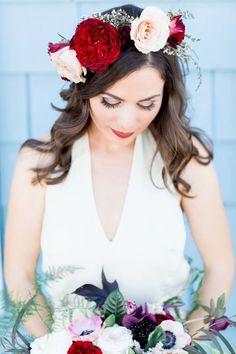 Wedding hairstyle idea; Featured Photographer: Natalie Schutt Photography