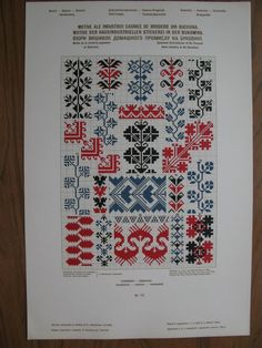 "Photo from album ""Вышивка on Yandex. Tribal Patterns, Vintage Patterns, Beading Patterns, Cross Stitch Patterns, Cross Stitch Embroidery, Hand Embroidery, Palestinian Embroidery, Pattern Books, Needlework"