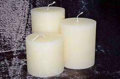 ΚΥΛΙΝΔΡΟΙ  10x10, 10x12,5, 10x15 ΣΕΤ 3 ΤΕΜ via ΕΡΓΑΣΤΗΡΙΟ  ΚΕΡΙΩΝ. Click on the image to see more! Pillar Candles, Candles