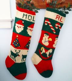 a9b84f741e22 Ravelry   24 Traditional Christmas Stockings pattern by Melinda Goodfellow  Traditional Christmas Stockings