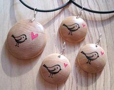 Tweetheart Valentine bird jewelry