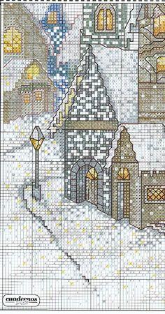 Schema punto croce Cobblestone Winter 04