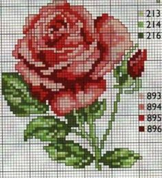 This Pin was discovered by Ayş Cross Stitch Love, Cross Stitch Cards, Modern Cross Stitch, Cross Stitch Flowers, Cross Stitch Designs, Cross Stitching, Cross Stitch Embroidery, Embroidery Patterns, Hand Embroidery
