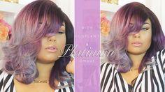 RICH EGGPLANT & PLATNIUM OMBRE HAIR | FT ALIEXPRESS CEXXY HAIR