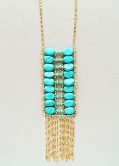 Handmade Egyptian Turquoise Necklace – Pree Brulee
