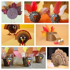 turkey craft round up-visual ideas only