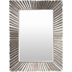 Frame: Polyurethane Frame Color: Silver Beveled Made in India Dimensions: 36.20″l x 1.60″d x 48.80″h