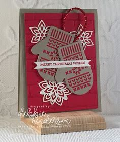 Merry Monday Christmas Challenge: Merry Monday #264 {Kraft and Red}