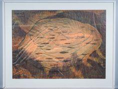 Outi Kirves: Lammikko, 1998, puupiirros, 72x97 cm, edition 5/20 - Huutokauppa Helander 09/2015 Finland, Painting, Art, Art Background, Painting Art, Kunst, Paintings, Performing Arts, Painted Canvas